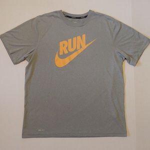 Nike running dri-fit tee